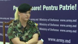 Майор национальной армии Юлия Мадан приняла участие в миротворческой операции в ЦАР