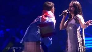 Суд Киева оштрафовал выбежавшего на сцену Евровидения пранкера