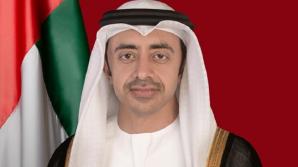 Министр иностранных дел ОАЭ провёл встречу с Андреем Галбуром