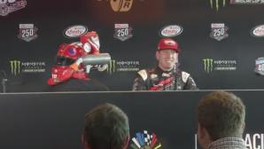 Американский гонщик представил шлем с автоматической подачей конфет