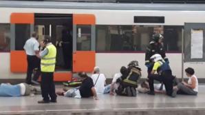 В Барселоне поезд врезался в платформу, пострадали 54 человека