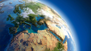 Создана карта, которая показывает, как Земля меняет сезонные цвета