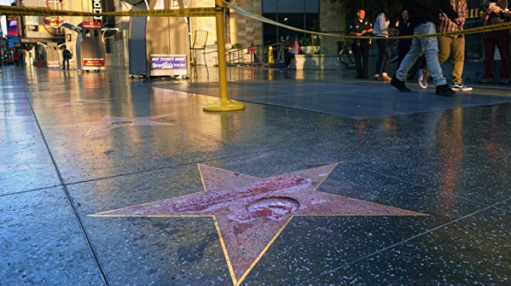Девушка, отмывшая звезду Трампа, заявила об оскорблениях в свой адрес