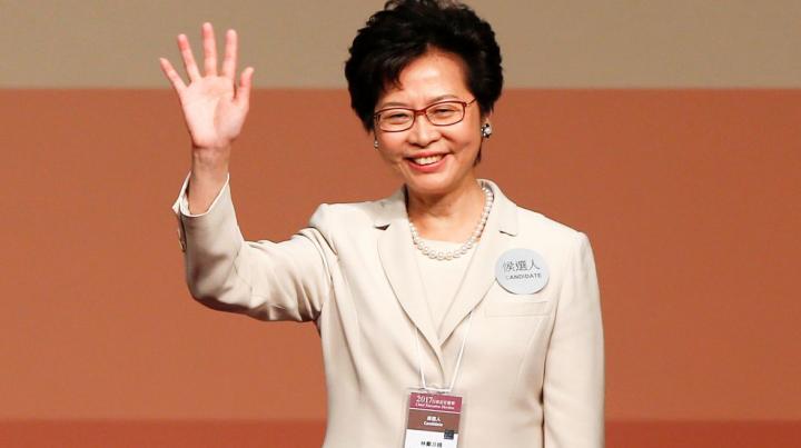 В Гонконге впервые главой администрации избрана женщина