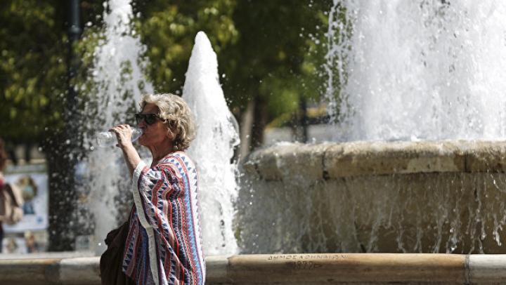 На Крите десятки людей госпитализировали из-за жары