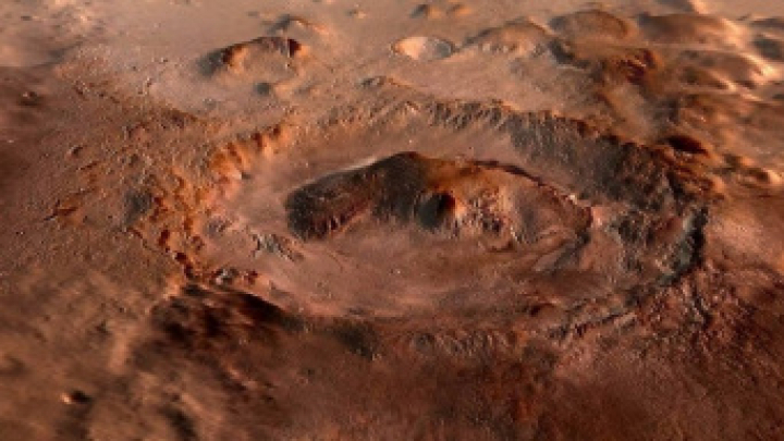 Опубликовано видео обнаруженного на Марсе странного купола