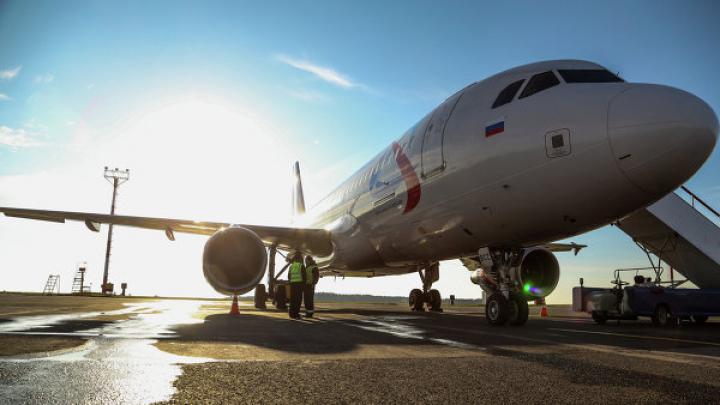 Во Внуково самолет ударился хвостом о взлетную полосу