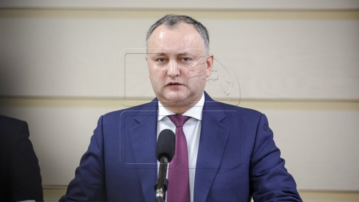 Президент Игорь Додон промульгировал закон о реформе правительства