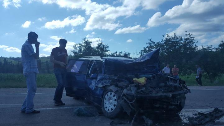Серьезное ДТП на Полтавском шоссе
