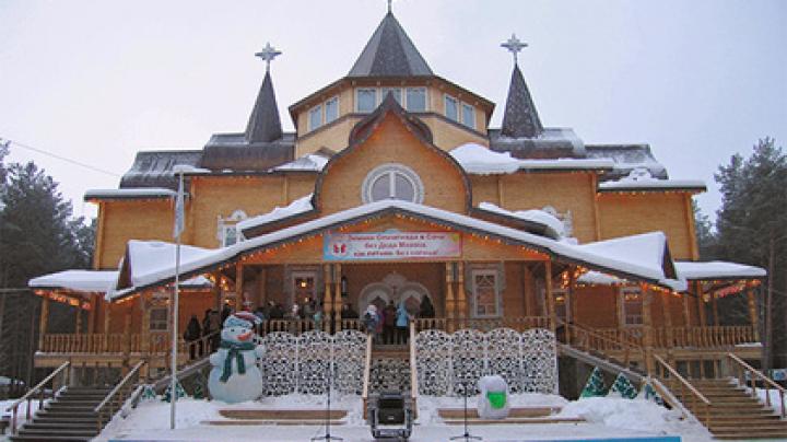 Деда Мороза задумали переселить во дворец за 5 тысяч евро