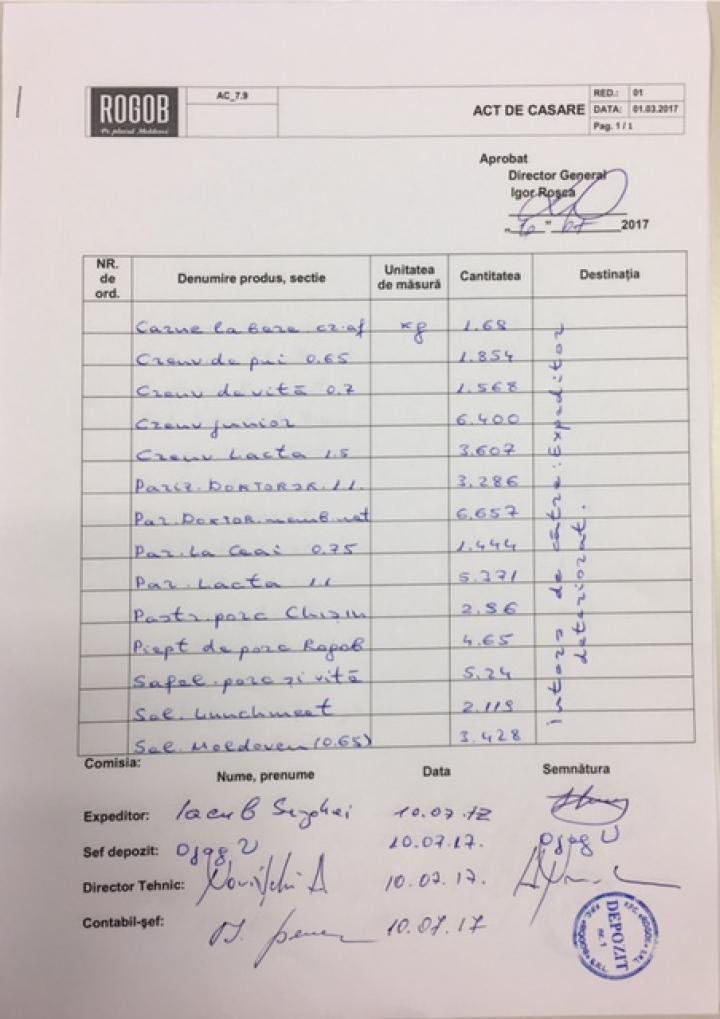В «Rogob» прокомментировали скандальный инцидент с  доставкой мяса