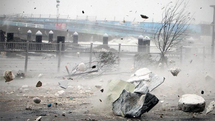 В Японии отменили десятки авиарейсов из-за тайфуна