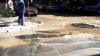 В центре столицы затопило несколько улиц