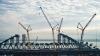 В Керченский пролив доставили железнодорожную арку будущего моста