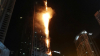 В Дубае загорелся второй за неделю жилой небоскреб