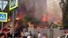 В Ростове-на-Дону локализовали пожар, который уничтожил 107 построек