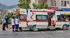 В Аланье туристический автобус столкнулся с грузовиком