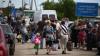По официальным данным, число беженцев в Украине составляет 1,5 млн человек
