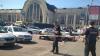 Двое неизвестных открыли огонь на вокзале в Киеве