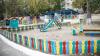 В Цынцэренах обустраивают двор детского сада и проводят уличное освещение
