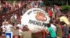 Во время катания гигантских шаров в Испании пострадали два человека: видео