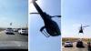 В Казахстане вертолет сопроводил свадебный кортеж