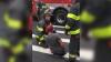 Асфальт поглотил ногу жителя Нью-Йорка