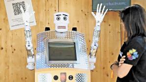 В Японии представили робота-священника