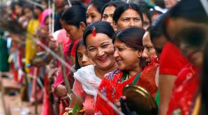 Индусы всего мира отметили накануне День явления Господа Шри Кришны
