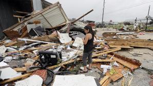 """В штате Техас, где бушует ураган """"Харви"""", продолжается эвакуация"""