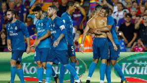 """""""Реал"""" обыграл """"Барселону"""" в первом матче Суперкубка Испании"""
