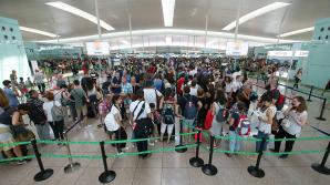 Забастовка привела к очередям в аэропорту Барселоны