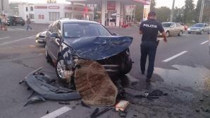 На Рышкановке в жёстком ДТП пострадали пять автомобилей: фото