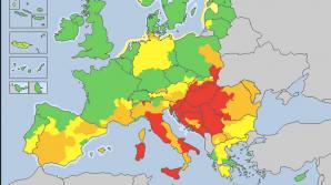 В 10 европейских странах  объявлен красный код метеоопасности