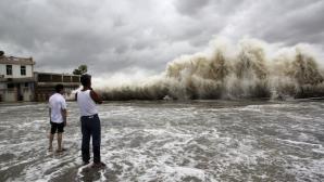 На Гонконг обрушился самый мощный тайфун за последние пять лет