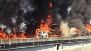 Цепная авария с участием 36 машин произошла в Бразилии: есть погибшие