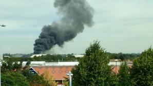 У аэропорта в Лондоне прогремел взрыв
