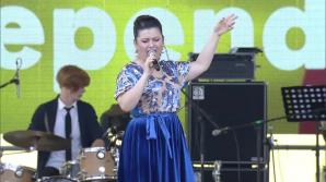 Джета Бурлаку выступила на главной площади страны