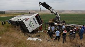 В Турции перевернулся автобус, пять человек погибли, 36 ранены