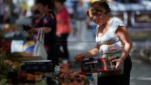 Дефляция в июле составила 0,9 процентного пункта
