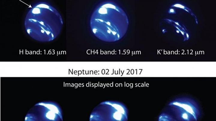 Астрономы: на Нептуне возник гигантский ураган размером с Землю