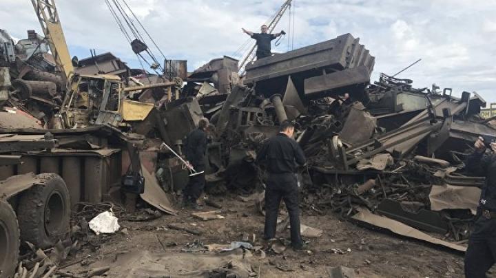 Взрыв на базе приема металла в Чите: два человека погибли, один пострадал