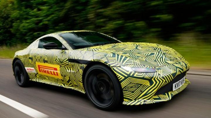 Aston Martin тестирует новую модель Vantage
