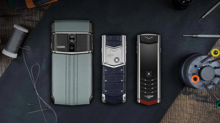 Компания Vertu распродает элитные смартфоны