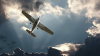 В уральском селе самолет совершил жесткую посадку