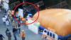 Камера сняла жуткое падение ребенка с батута в Москве