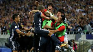 Сборная Японии досрочно завоевала путевку в финальную часть ЧМ-2018