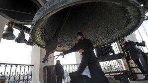 В Москве установили колокол весом 16,5 тонны