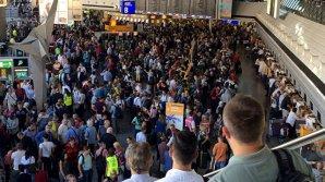 В аэропорту Франкфурта распылили неизвестный газ