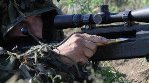В Приднестровье прошли учения российских снайперов